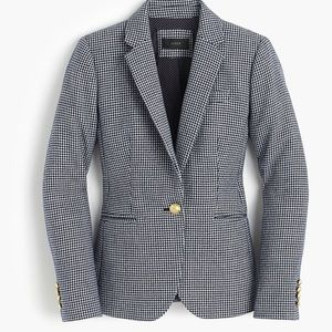 Nwit j.crew campbell blazer in houndstooth